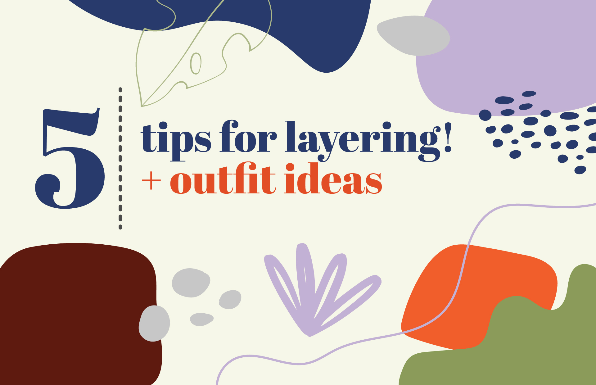 5 tips for layering